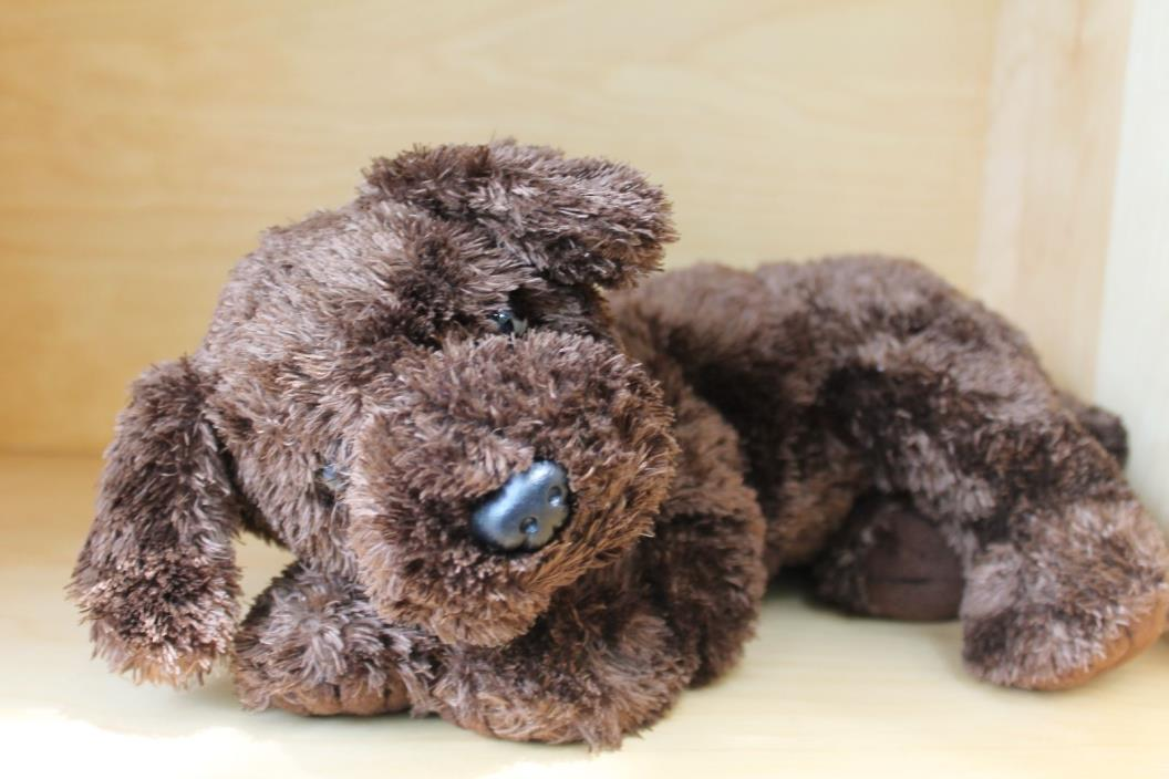 Ty Classics Nuzzle The Brown Puppy Dog Plush Stuffed Animal 2001 13