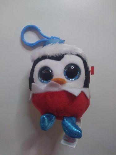 TY Baby Beanies Sugarplum-Penguin. Brand New. 8.5 cm.
