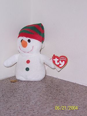 CHILLER JINGLE Ty Beanie Baby MINT WITH MINT TAGS