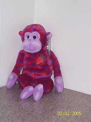 TWISTY TWIZZLERS  Ty Beanie Baby MINT WITH MINT TAGS