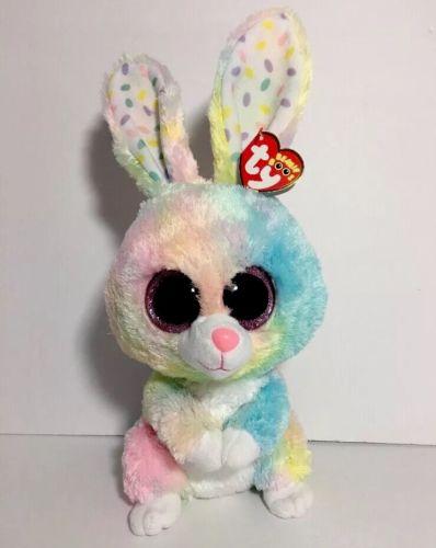 Ty Beanie Boos Bunny Bubby Multicolor Plush 8