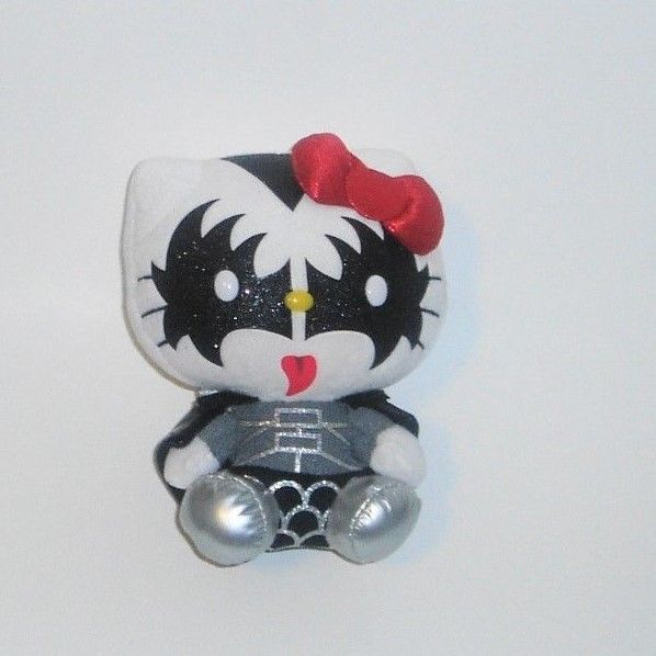 TY 2013 Sanrio Hello Kitty KISS The Demon Gene Simmons 6