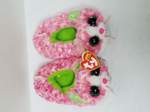 Ty Beanie Boos-Cat Slippers-Size Small