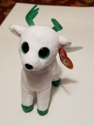 Ty Beanie Babies Peppermint the Reindeer Brand New with tag 6