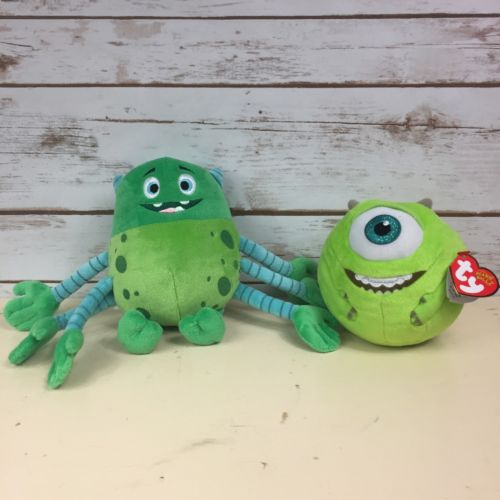 Monsters Inc Ty Beanie Ballz Mike 5