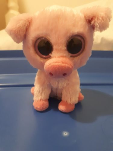 TY Beanie Boo Corky pig Retired Tush tag only