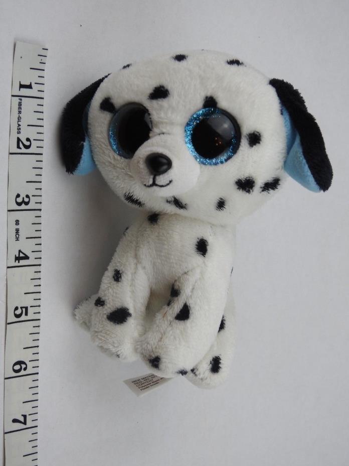 Ty Beanie Boo Boos Baby Plush Fetch Dalmatian Dog 6