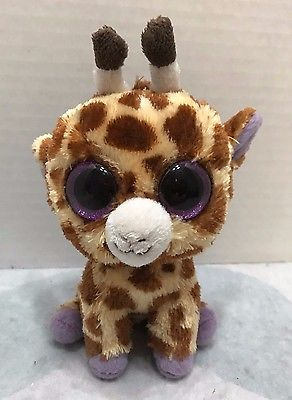 Ty Beanie Boo Safari Giraffe Plush 6