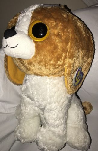 Ty Beanie Boo Cookie The Beagle Jumbo 18
