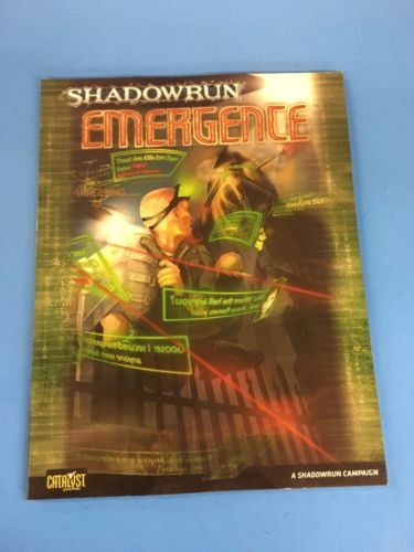 Shadowrun RPG 4th Edition Emergence Campaign 26301 TB