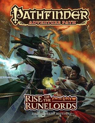 Pathfinder: Adventure Path: Rise of the Runelords Anniversary Edition (Hardcove