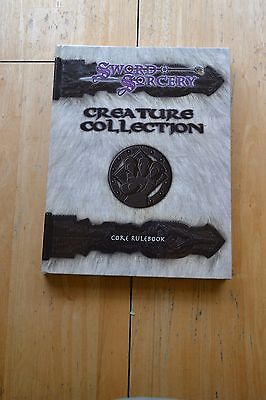 Sword & Sorcery Creature Collection Core Rulebook WW8300