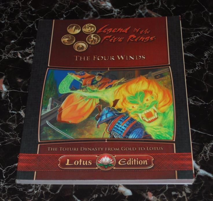 L5R The Four Winds Legend of the Five Rings 3e RPG