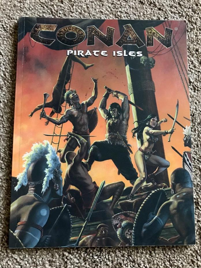 Conan RPG Pirate Isles MGP 7704