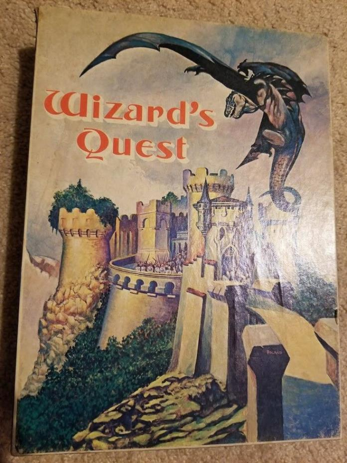 AVALON HILL WIZARDS QUEST BOARD GAME, EXCELLENT USED CONDITION