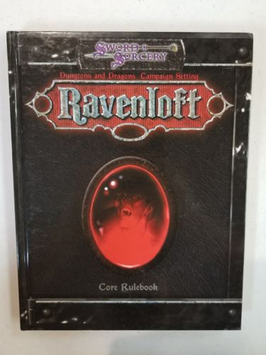 Sword and Sorcery Ravenloft Players Handbook
