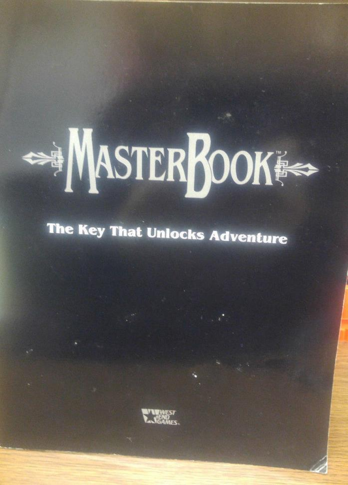 West End RPG MasterBook SC VG