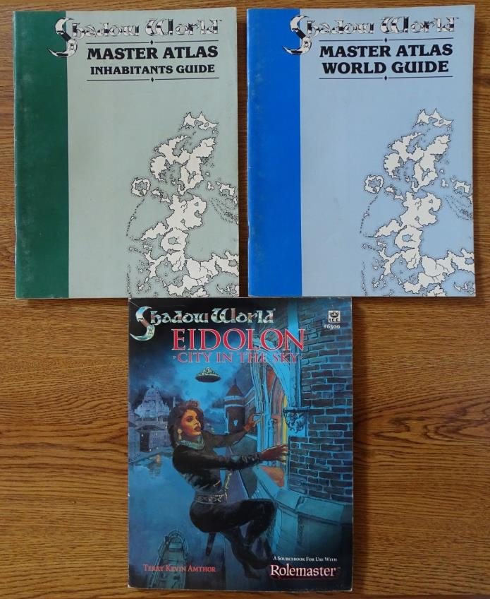 Shadow World role playing game books