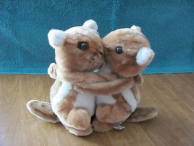 STUFFED ANIMAL (2 Chipmunks) / DAKIN