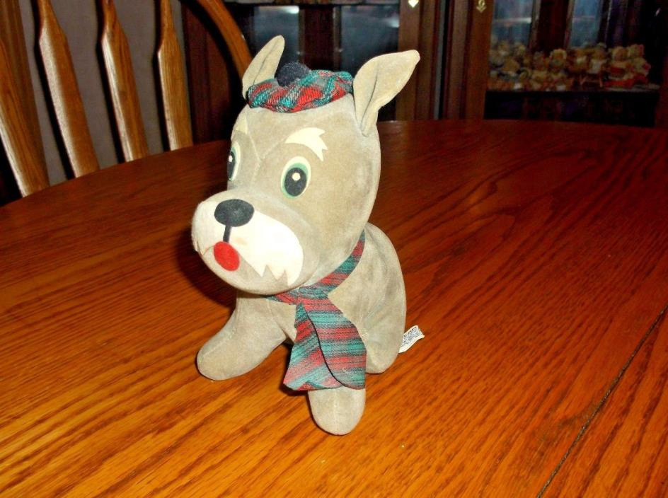 VINTAGE DAKIN DREAM PETS DUNCAN SCOTTIE #798 WITH TAGS