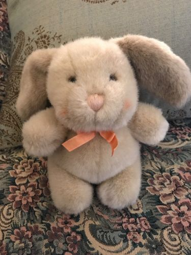 DAKIN Sweet Inspirations 1989 Tan Bunny Rabbit 7