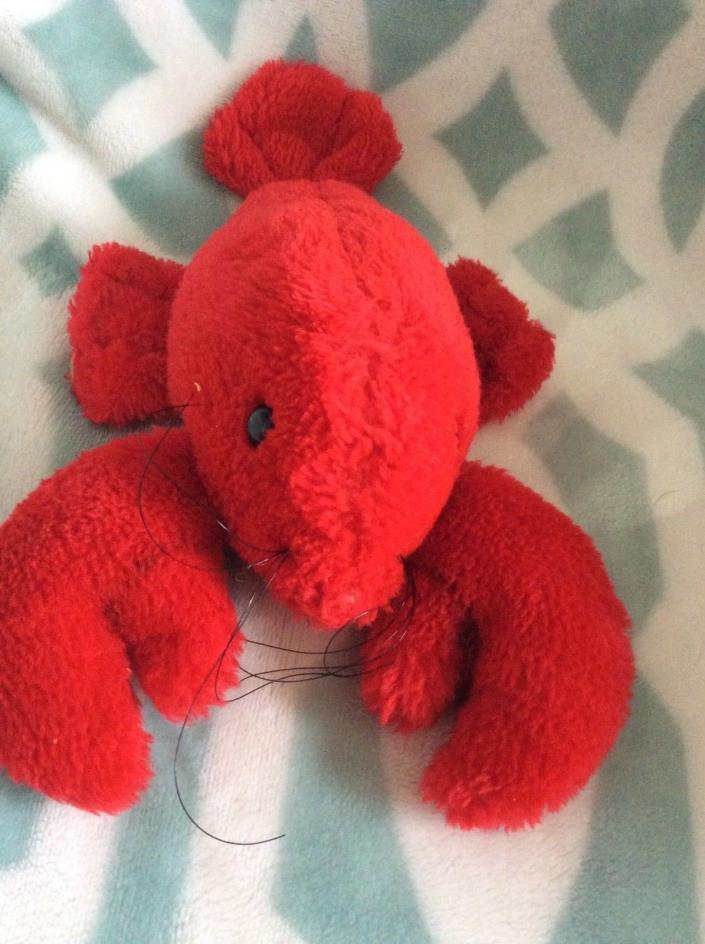 1979 DAKIN LOBSTER PLUSH STUFFED TOY ANIMAL 10