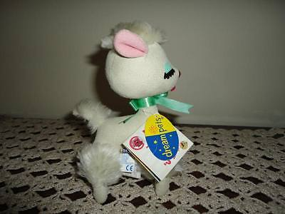 Dakin LUCY LAMB White Plush Dream Pets All Original Tags 46064 1074 1963
