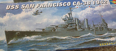 1/700 USS San Francisco (CA-38) 1942 New Orleans Class Cruiser Trumpeter #05746