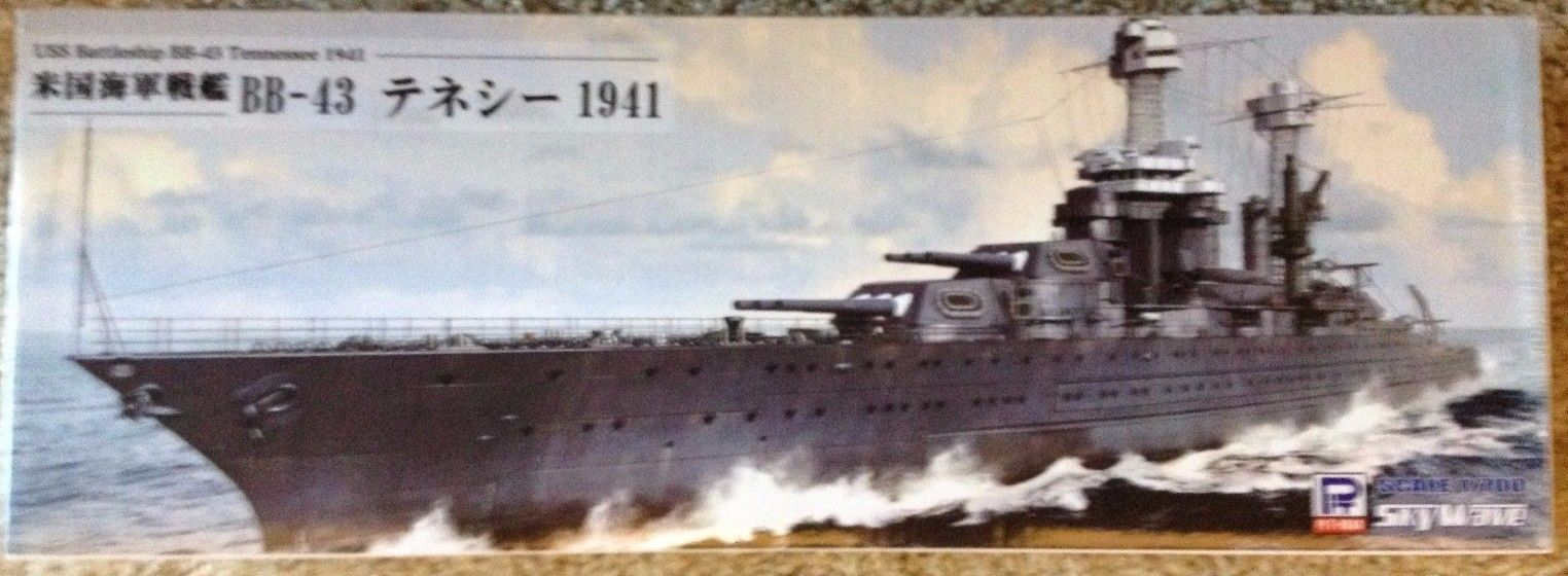 1/700 USS Tennessee (BB-43) 1941 Pearl Harbor - Pit-Road/Skywave/Trumpeter W180