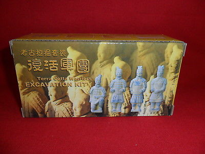 Terra Cotta Warriors Excavation Kit - Armored General New Sealed Free Shipping