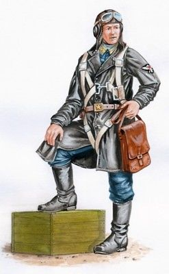 Plus Model 1:48 WWII Russian La-5 Pilot - Resin Figure Kit #AL4059