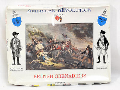 A Call To Arms American Revolutionary War Toy Soldiers British Grenadiers NEW
