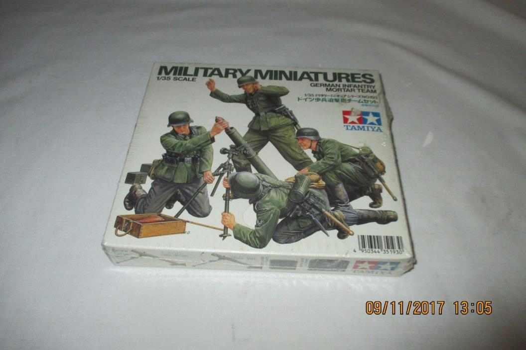 Tamiya WWII German Infantry Mortar Team, 1/35 35193