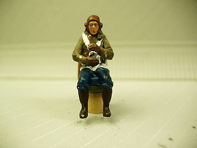 1/48 FIGURE ASSEMBLED AND PAINTED  WWII RUSSIAN PILOT #2