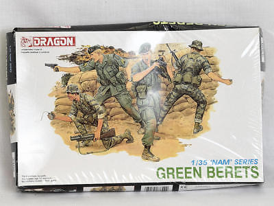Dragon 1/35 Scale Model Soldiers 3309 Green Berets NAM Series NEW