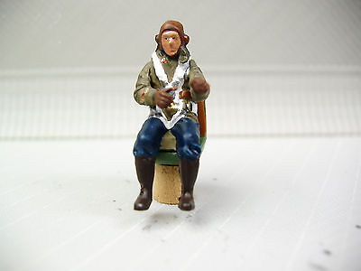 1/48 FIGURE ASSEMBLED AND PAINTED  WWII RUSSIAN PILOT #3