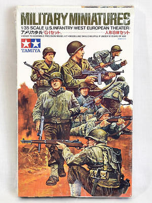 Tamiya 1/35 Scale Model Kit Military Miniatures US Infantry West European NEW