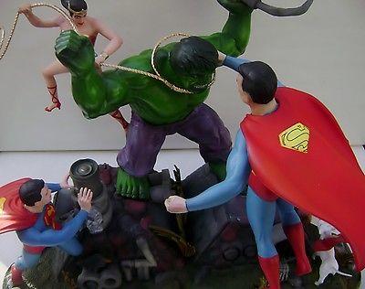 AURORA POLAR LIGHTS Moebius Hulk Wonder Woman SUPERMAN AIRBRUSHD Model DC COMICS