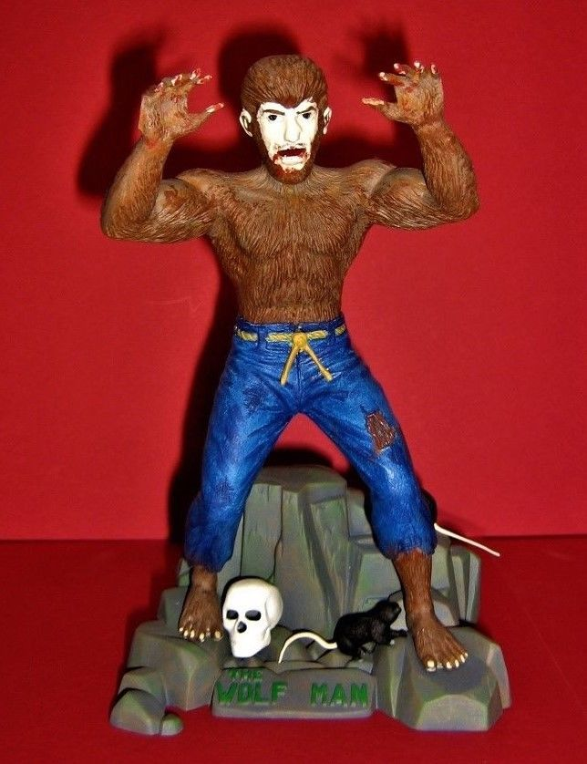 The Wolfman 1:8 scale Revell 1991 Model  / Pro Build-Up