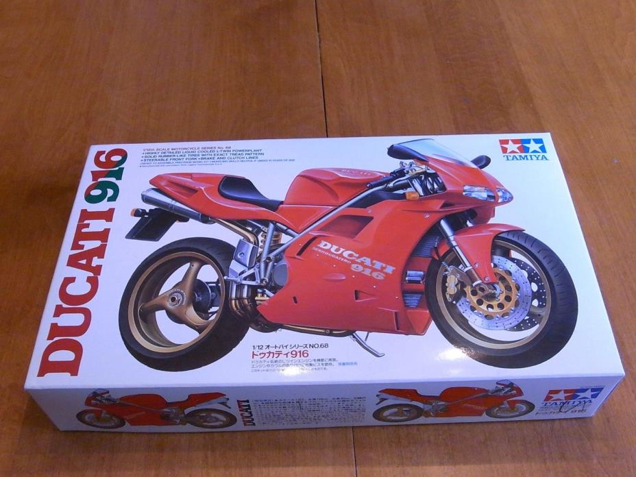 TAMIYA DUCATI 916 model kit japanese english item 14068-2000 1/12th scale