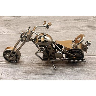 Categories Creative Iron Motorcycle Model Modern Ornament Unique Metal Art Decor