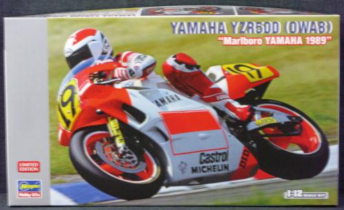 1:12 Yamaha YZP500 (0WA8) - Marlboro Yamah 1989 Limited Edition - Hasegawa Hobby
