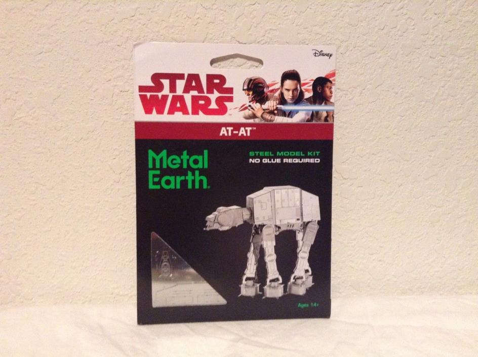 Metal Earth Star Wars AT-AT Steel Model Kit