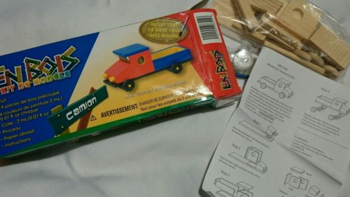 Junior Enbois Model Kits Cut & Unpainted TRUCK  NEW IN  BOX