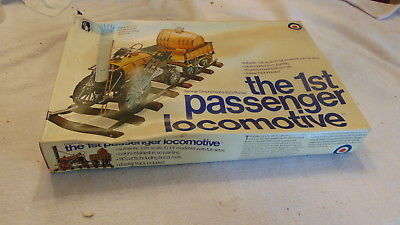ENTEX MODEL KIT THE 1ST PASSENGER LOCOMOTIVE 1/26 SCALE #8219 1829 ROCKET