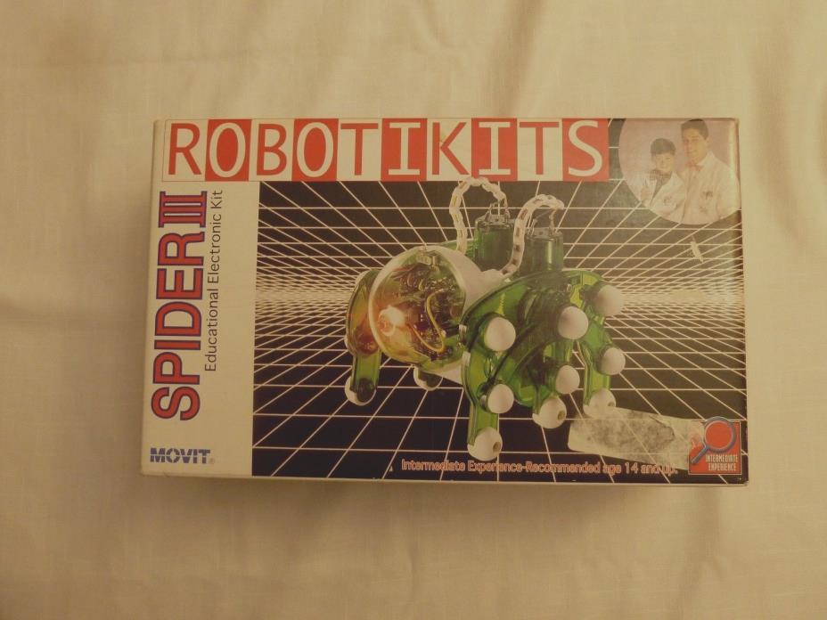 RobotiKits SPIDER III by MOVIT OWIKIT Educational Electronic Kit NEW damage box