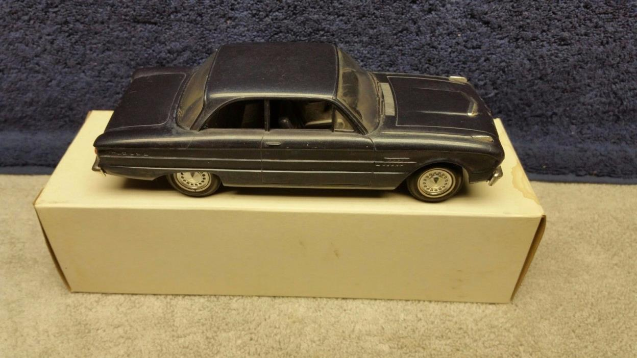 Vintage Original 1962 Ford Falcon Futura Dealer Promo Model Car in Dark Blue
