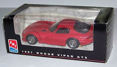 1997 Dodge Viper GTS Promo #8416 by AMT/Ertl Red #2 1/25 Scale