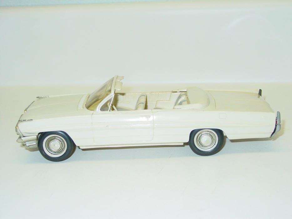 Vintage Plastic 1961 Pontiac Bonneville Convertible Dealer Promo Car Toy Vehicle