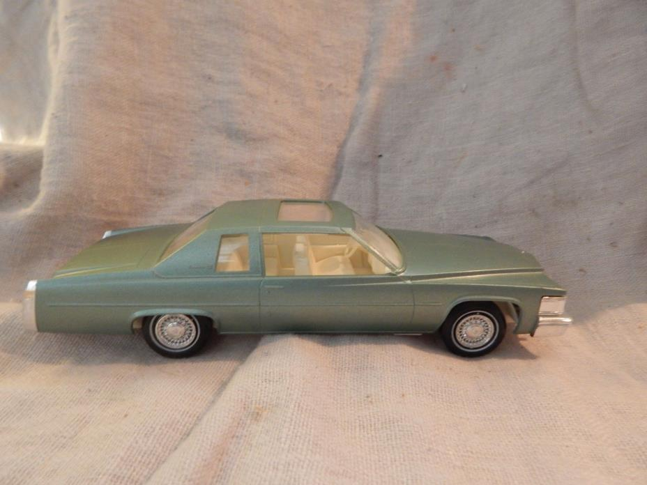 Vintage Jo-Han 1978 Cadillac Coupe de Ville Dealer Promo Car Green